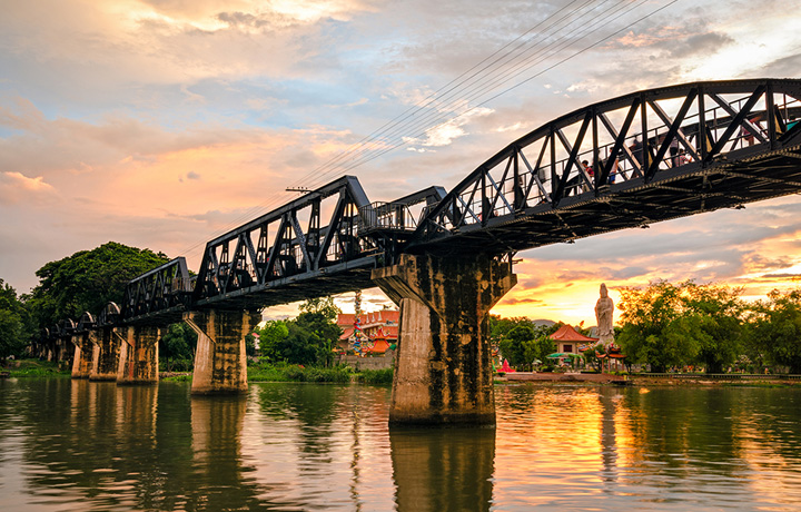 SincereTransfers Airport to Kanchanaburi is the third biggest province in Thailand.