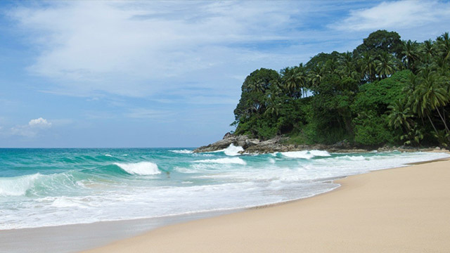 Naturally beautiful Surin Beach Phuket